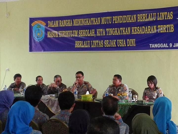 Launching Buku Tertib Berlalu Lintas