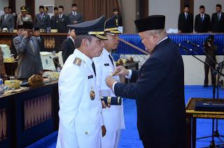 Pelantikan Bupati Dan Wakil Bupai OKI Periode 2014 - 2019