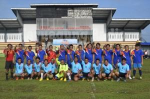 Pertadingan Bola Kaki Pers-TNI-Polri Dan SKPD