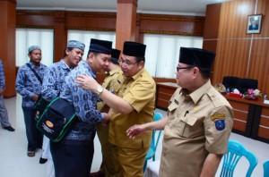 30 Jema'ah Umroh Gratis Diberangkatkan Pemkab OKI