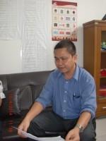 Ketua Panwaslu Kabupaten OKI, Muhammad Fahrudin, SH