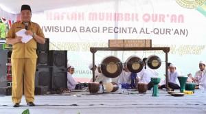 Rumah Tahfidz Ahlu Dzikri Kayuagung Wisuda 50 Hafidz Qur'an