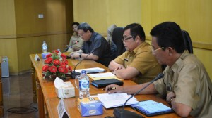 Focus group discussion pelaksanaan Program Kawasan Perdesaan Berkelanjutan (P2KPB) di Kabupaten OKI