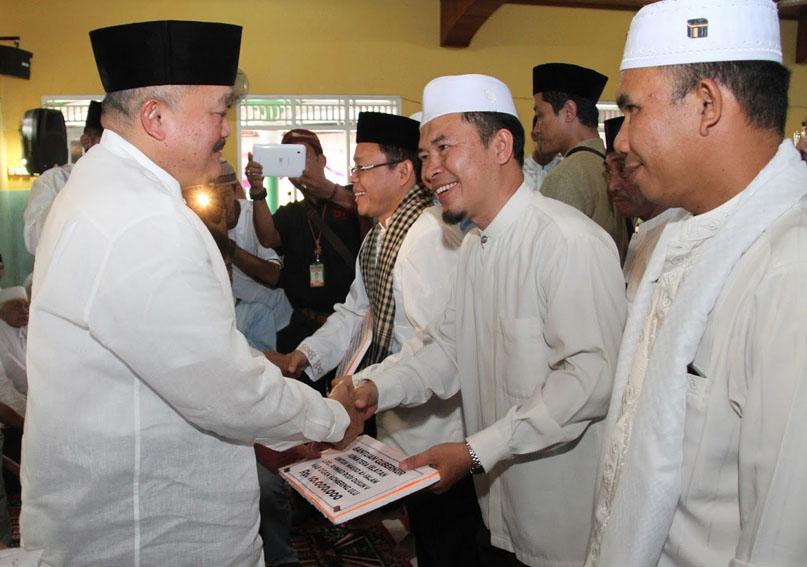Safari Ramadhan Gubernur Sumsel di Kab  OKU