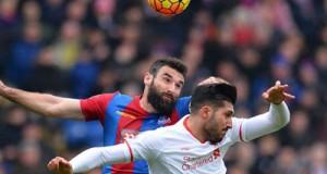 bermain dengan 10 pemain  Liverpool mampu Kalahkan Palace