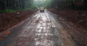 Jalan Desa Lebung Hitam Kec.Tulung Selapan