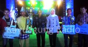 Malam Penutupan OKI Expo 2016 Lapangan Segitiga Emas Kota Kayuagung