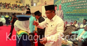 Khataman/ Wisuda Santri X TK/TPA LPPTKA-BKPRMI GOR Biduk Kajang 26/10/16