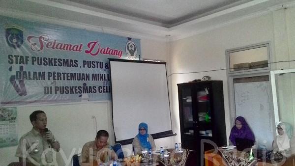 Puskesmas Celikah adakan Komitmen Lintas Sektor/Koordinasi Lintas Sektor dan Sosialisasi Akreditasi Puskesmas 29/11/16