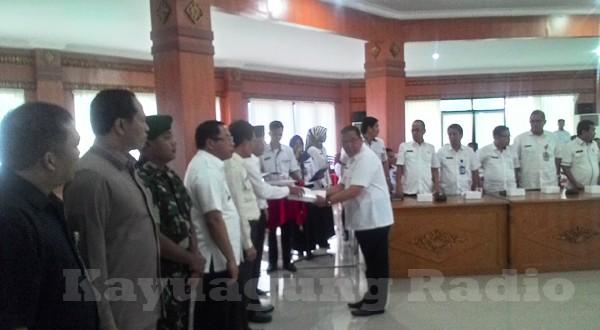 Penyerahan Dokumen (DPA-SKPD) Kabupaten Ogan Komering Ilir Tahun Anggaran 2017 Rabu 18/01/17