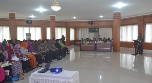 Mendukung Visi Kabupaten Ogan Komering Ilir (OKI) Mandiri dan Sejahtera (Mandira), Satuan Kerja Perangkat Daerah (SKPD) Bersama Dengan Instansi Vertikal. (16/02/17)