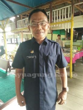 Kepala Kesbangpol OKI Tohir Riyanto S.Sos Saat Bersilaturahmi Bersama Organisasi/Lembaga Masyarakat. (16/02/17)