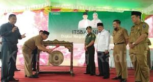 H. M. Rifa'i SE Resmikan Pelayanan Administrasi Terpadau Isbat Nikah Tahun 2017
