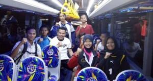 Ketua PSSI OKI H. Subhan Ismail Lepas Atlet Sepakbola Seleksi Timnas U16.