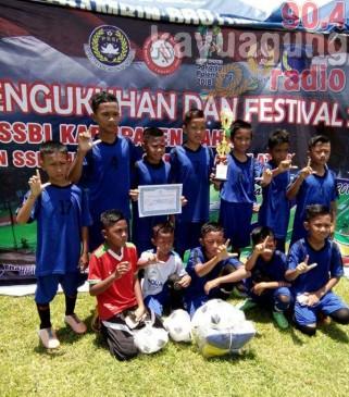 U-12 PS OKI Juara 1 Turnamen FOSSBI Lahat CUP2017
