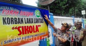 "Kapolres OKI AKBP Amazona Pelamonia SIK SH Resmikan Rumah Singgah ""SIKOLA""."