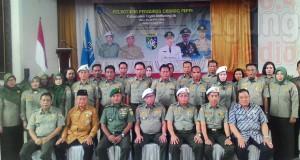 Wakil Bupati OKI H. M. Rifa'i SE Foto Bersama Ketua Daerah Pengurus FKPPI Sumsel dan FKPPI OKI.