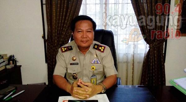 Kepala Kantor Pertanahan Kabupaten OKI, M Syahrir A. Ptnh, SH, MM.