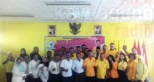 KPU OKI Sapa Partai Politik Dan Sosialisasikan UU Tentang Pilkada.