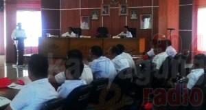 Pembukaan Bimbingan Teknis Layanan Publik Pemerintah Kabupaten OKI.