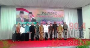 H. Ishak Mekki Ketua GT-PPTPPO Sosialisasi Pencegahan sosialisasi pencegahan tindak pidana perdagangan orang.
