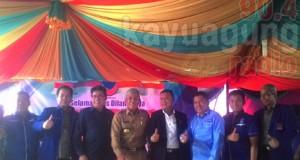 Pelantikan DPC DPRt Partai Nasdem, Hadir Bupati OKI.