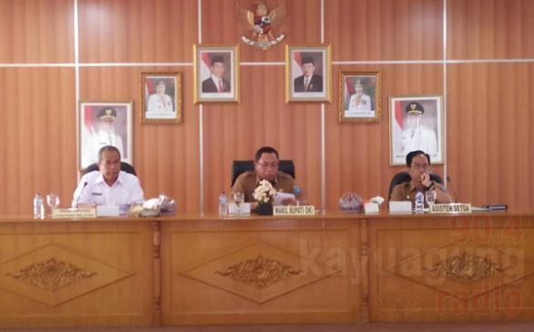 TPID Kabupaten OKI menyepakati rencana aksi TPID 2017 dengan program 5K.
