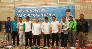 Tabligh Akbar Isra' Miraj 1438 H Biduk Kajang Kabupaten OKI