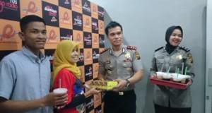 AKBP Ade Hariyanto Beri Suprise Ke Kayuagung Radio.